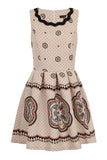 CARNIVAL DOTS PRINT DRESS - PINK/IVORY - Darccy & Soma London