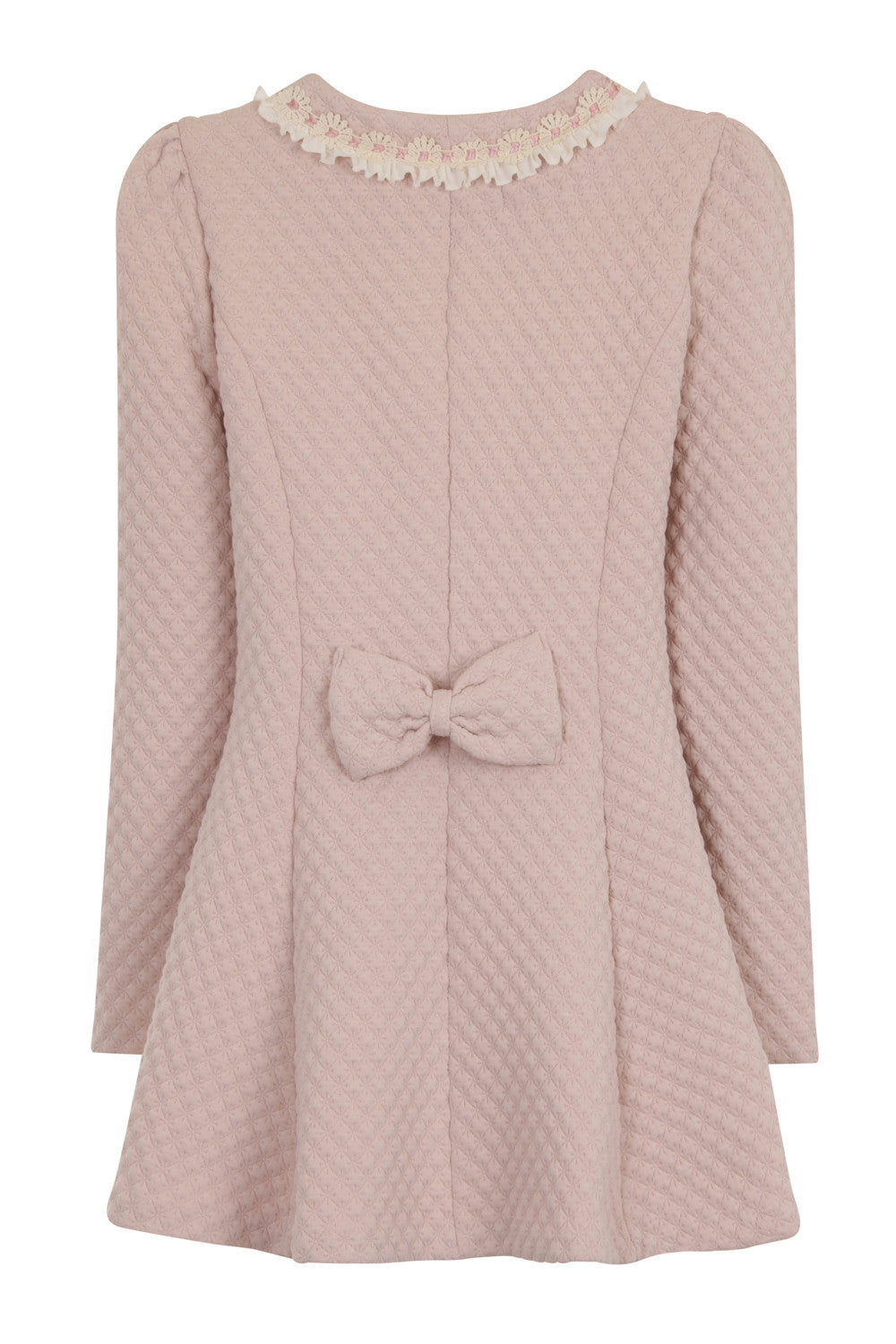 LACEY LINE LONG JACKET - PINK - Darccy & Soma London