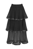 TREE LAYER SKIRT - BLACK