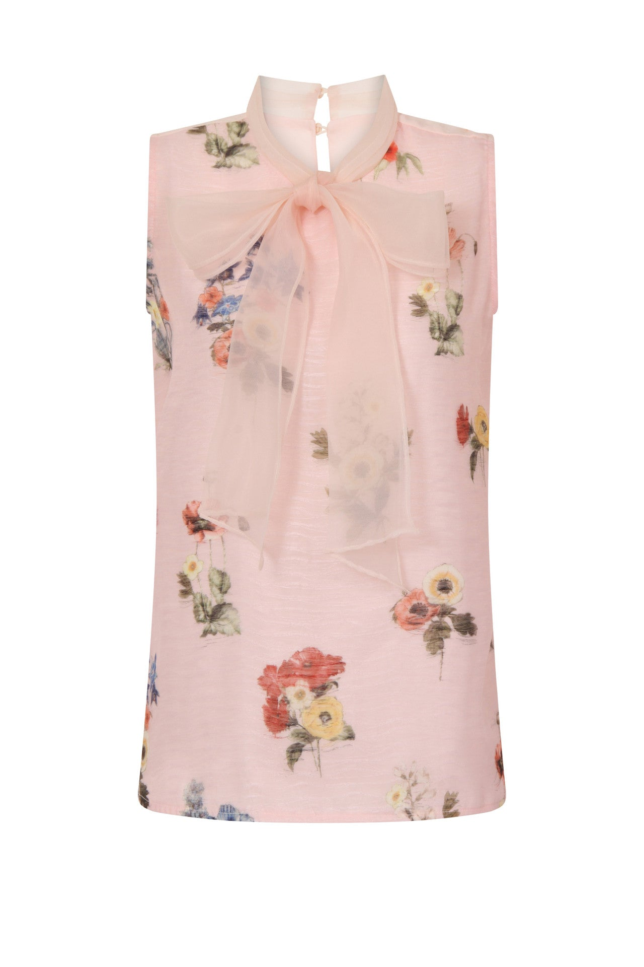 FLORAL MAJOR BOW TOP - Darccy & Soma London