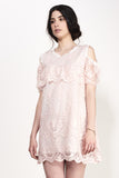HORIZONTAL SHIFT LACE DRESS - Darccy & Soma London