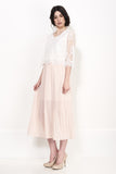 SNOW TOP MAXI DRESS - Darccy & Soma London