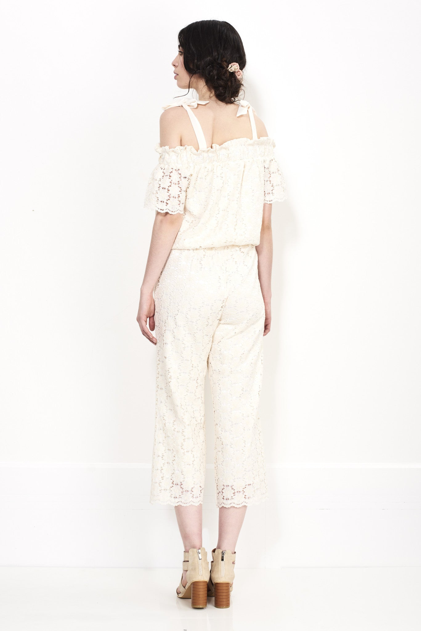 OFF SHOULDER JUMPSUIT - Darccy & Soma London