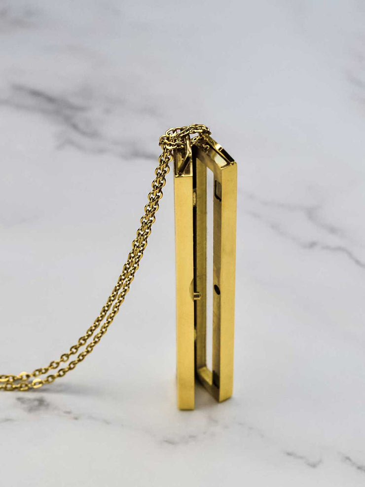 Crystal Bar gold offen