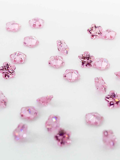 Crystal Flower pink