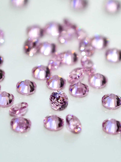 Crystal Mini Round pink