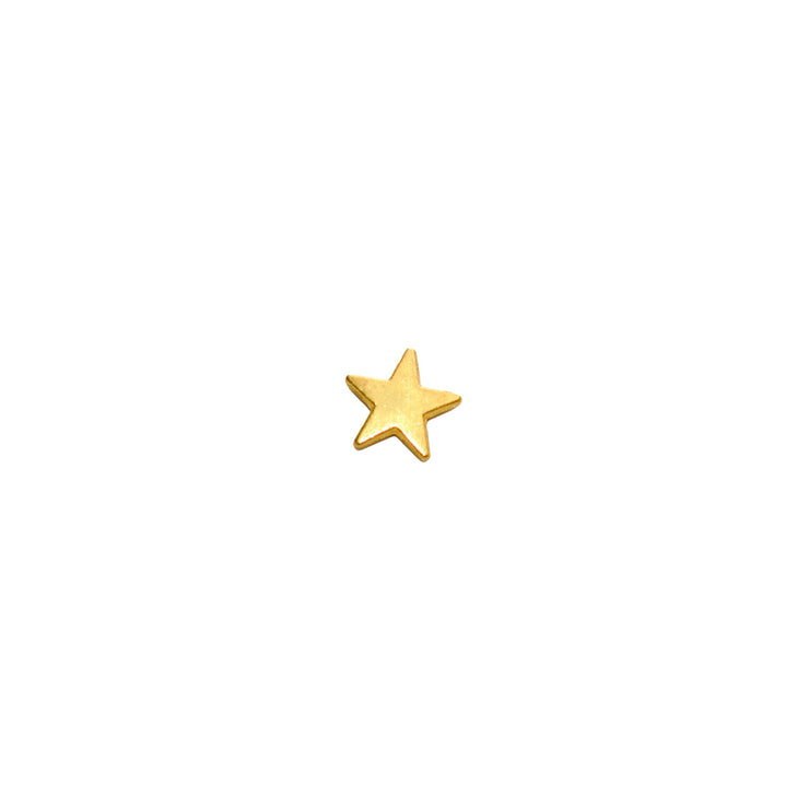 "Charm ""Full Star"" gold"