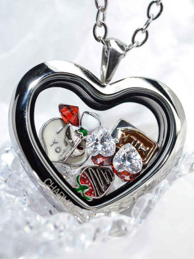 Silver Love Set mit Charmwaechter Heart silber