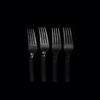 Hotpack | Heavy Duty Plastic Fork Black | 1000 Pieces