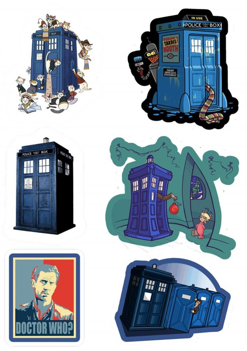 Doctor Who Sticker 90