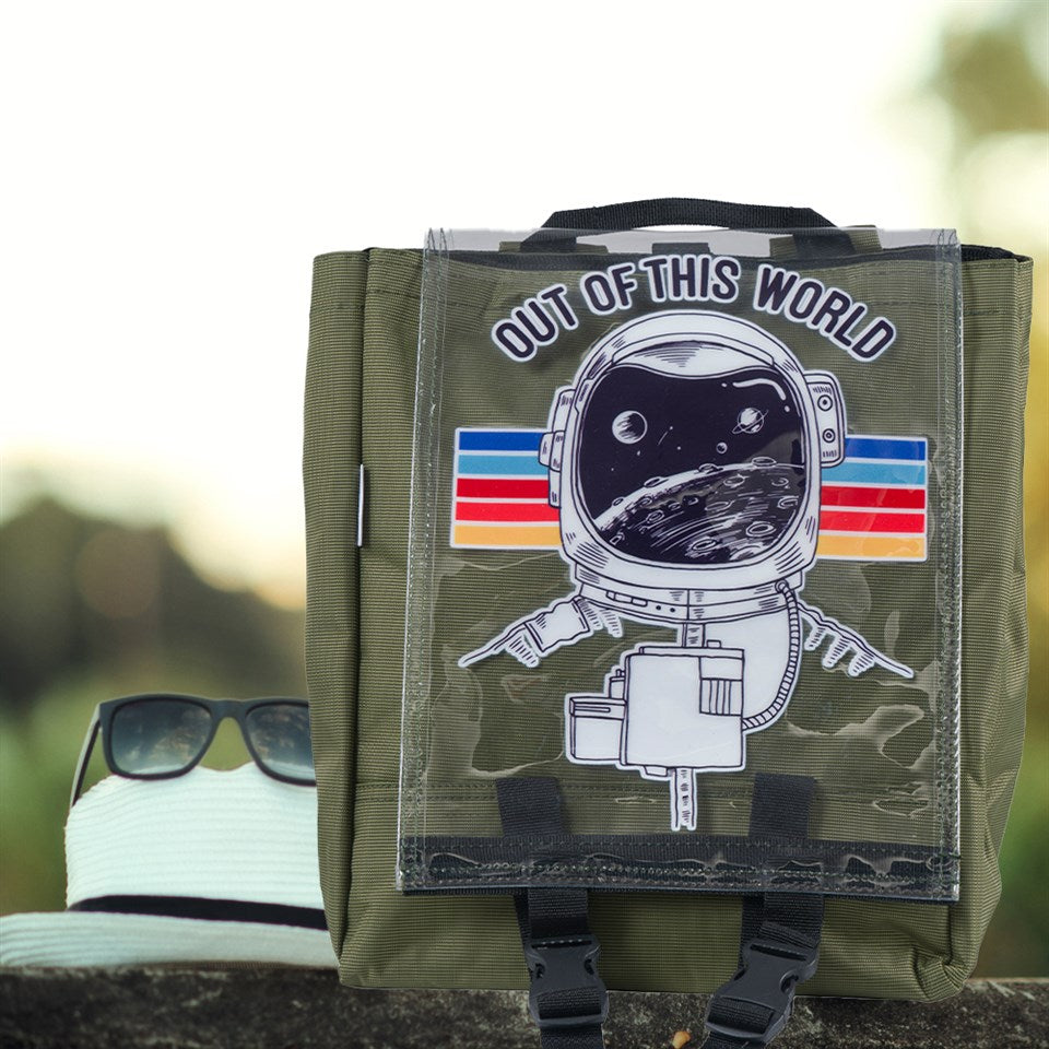 Рюкзак Woohoobox Out Of This World, хаки