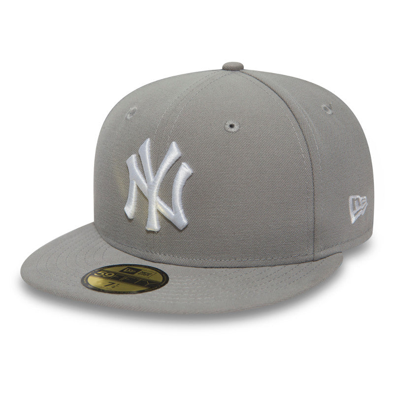 New Era - MLB Basic NY Yankee Grey / White - 10003438
