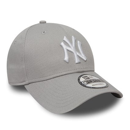 New Era 9Forty Adjustable Strapback Cap - New York Yankees - Grey - 10531940