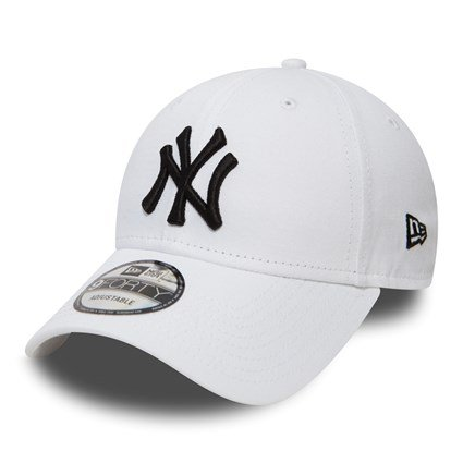 New Era 9Forty Adjustable Essentials Cap - New York Yankees - White - 10745455