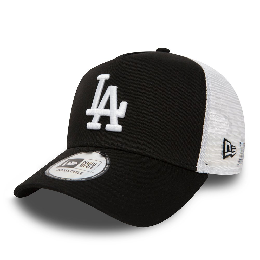New Era - Clean A Frame Trucker - Los Angeles Dodgers - Black - 11405498