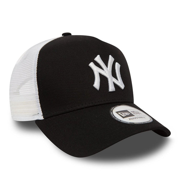 New Era Clean A Frame Trucker Cap - New York Yankees - Navy - 11588489