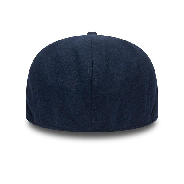 New Era Mens Herringbone Newsboy Cap - Blue - 12145361
