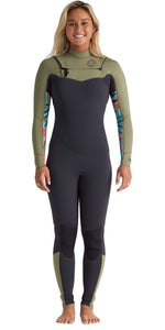 Billabong Women's 3/2 Full LS Wetsuit- Salty Dayz- Aloe - S43G51 - UK10