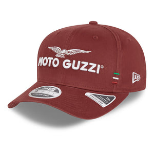 New Era - 9Fifty - Moto Guzzi - Washed Cotton Snap Back - Red - 60112753