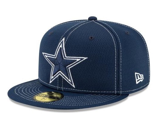 New Era - Dallas Cowboys NFL Sideline Road - 59Fifty Fitted Cap - Blue - 12050665