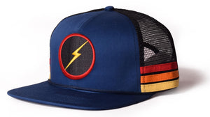 Lightning Bolt - 2020 - Sunset Stripe Hat / Cap - 99AMACAP400B42