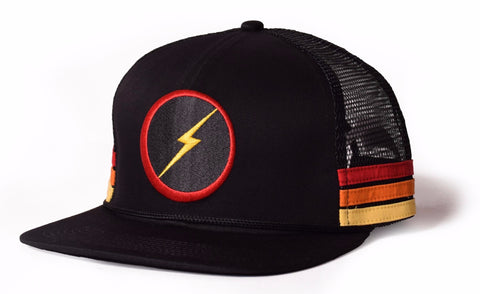 Lightning Bolt - 2020 - Sunset Stripe Hat / Cap -99AMACAP400K0000