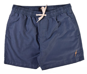 Lightning Bolt - Plain Turtle Boardshort