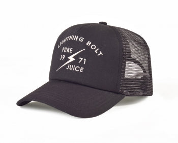 Lightning Bolt - Pure Juice Trucker Hat