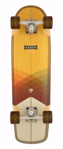 "Arbor Collective Skateboard 28.75"" Foundation Pilsner Complete ARB-COM-0067"