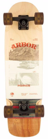 "Arbor Collective Skateboard 28.75"" Photo Pilsner Complete ARB-COM-0076"
