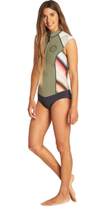 Billabong Women's Captain Sleeveless spring- serape- N41G05- UK10 - SAMPLE