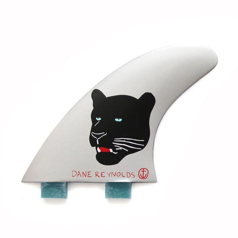 Captain Fin - Dane Reynolds Fins Thruster set - Twin  tabs - Small