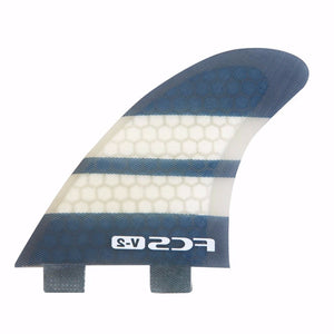 FCS II - V-2 PC Tri-Quad fin set - 1120-156-28-R - Size Medium