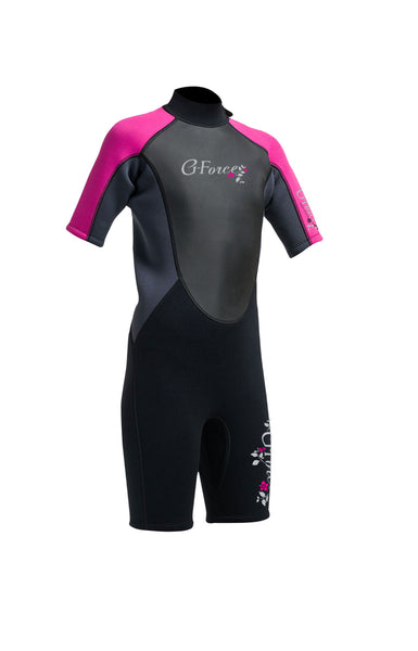 Gul - G-force - Junior Girls Shorty Wetsuit