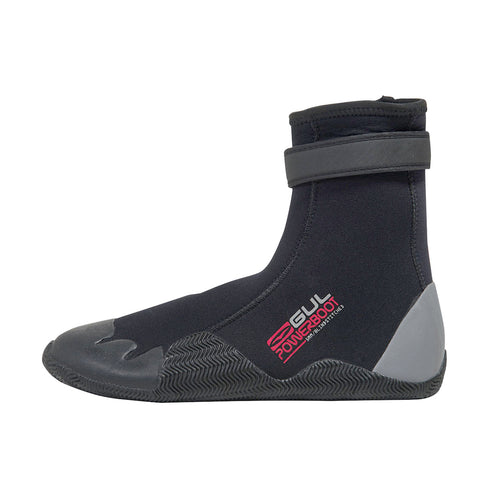 Gul - Power Boot - 5mm - Men's Round Toe Wetsuit Boot - B01263-A8BKGY