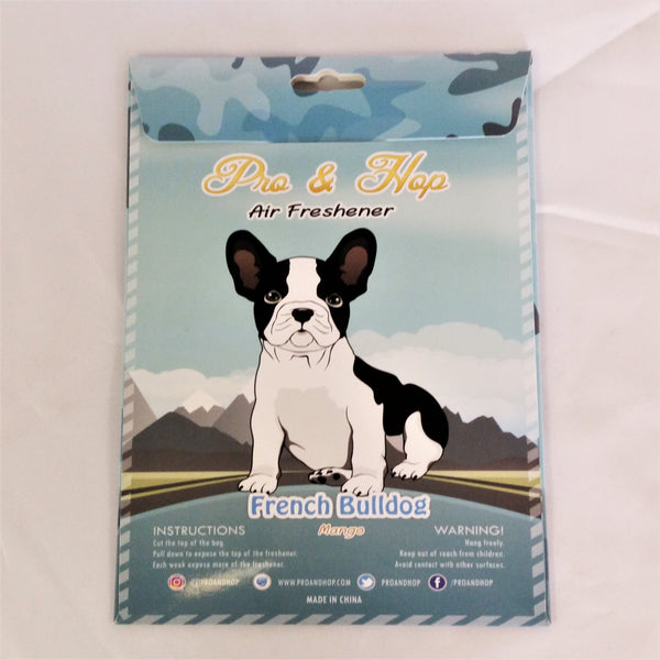 Pro & Hop Car air Freshener - French Bulldog