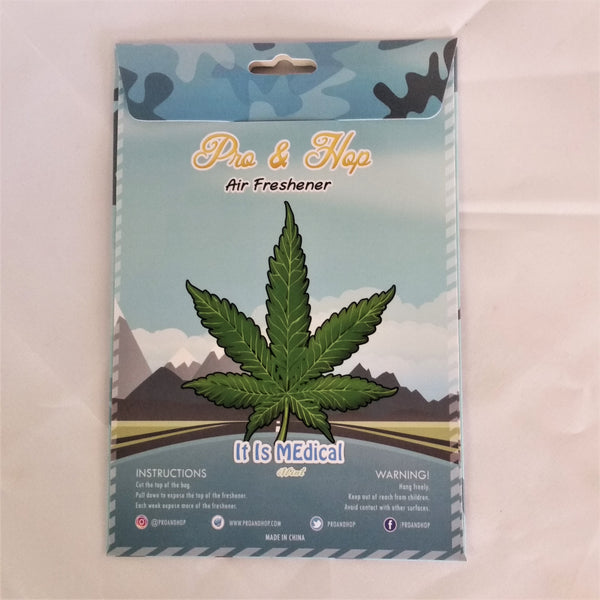 Pro & Hop Car air Freshener- It Is Medical