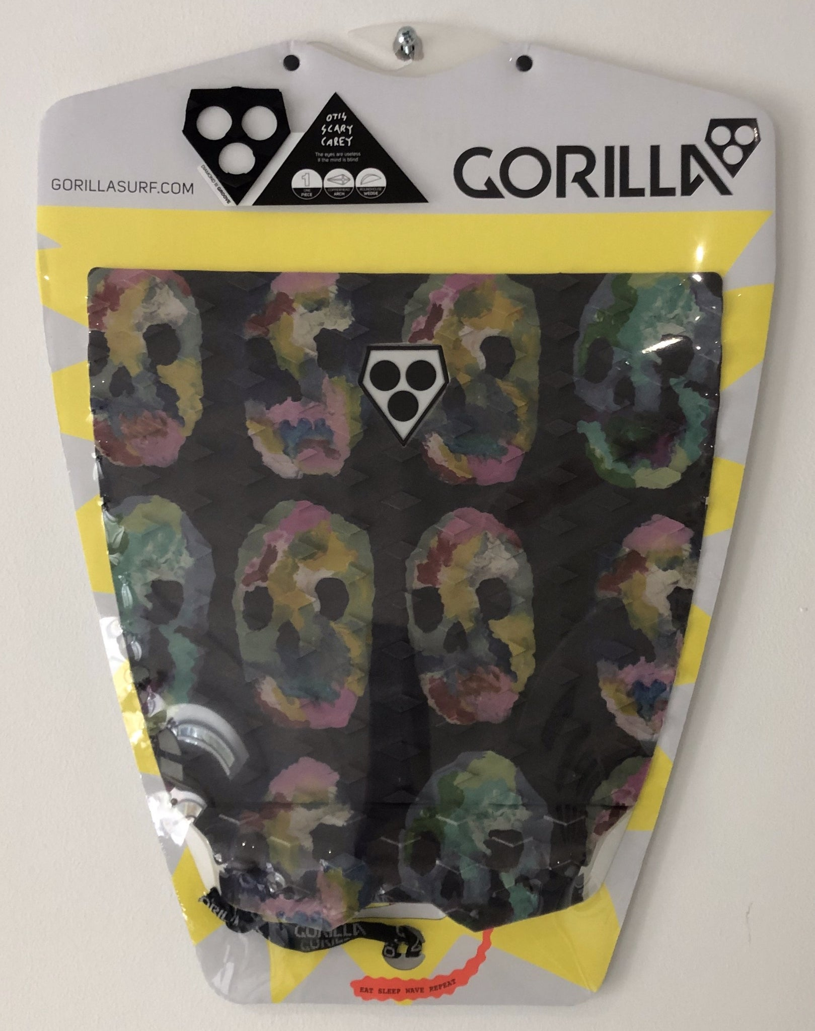 Gorilla Grip - Otis Scary Carey - Surfboard Grip Surf Traction Pad - 27655