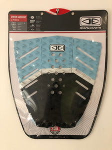 Ocean & Earth - Owen Wright signature pad - Surfboard Grip Surf Traction Pad - TP23-Blue