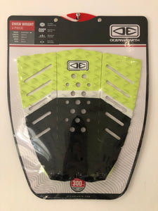 Ocean & Earth - Owen Wright signature pad - Surfboard Grip Surf Traction Pad - TP23 Lime