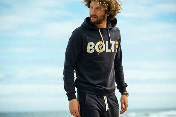 Lightning Bolt - Ace Fleece Hoodie - 18SMASWH003