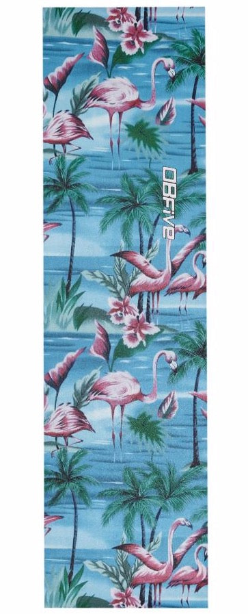 OBfive Flamingo Skateboard Grip Tape