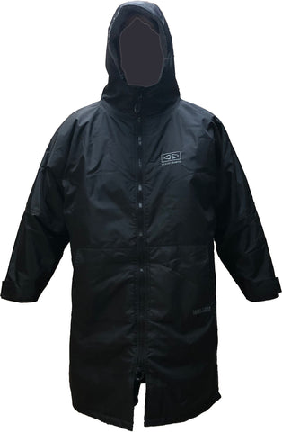 Ocean & Earth - Super Storm Waterproof Hooded Poncho - Black - AMTW25