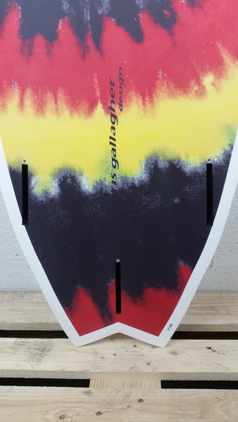 2017 Santa Cruz surfboards - Ozzie Wright Wing Swallow 5'8 - Tie Dye - Tail
