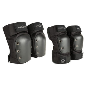 Pro-Tec Pads Street Knee / Elbow Pad Set - Black