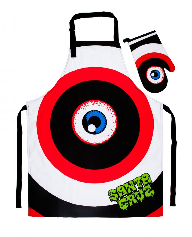 Santa Cruz - Rob Eye Barbeque Set - Apron With Mitt