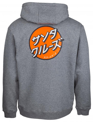 Santa Cruz - 2018 - Japanese Dot - Hoody - Dark Heather - SCA-HDY