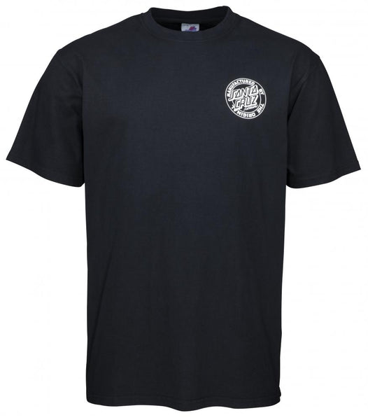 Santa Cruz T-Shirt Road Rider T-Shirt OGCS Collection - Black