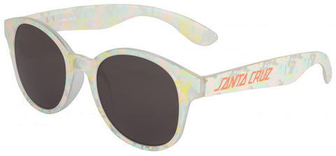 Santa Cruz Women's Sunglasses - Tie Dye Strip - Coral/Jade - SCA-WSU-0101