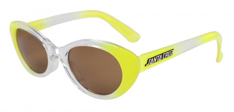 Santa Cruz Women's Sunglasses - Tropicana - Crystal Yellow - SCA-WSU-0120